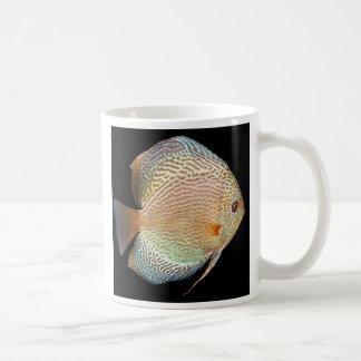 Discus Classic White Coffee Mug