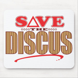Discus Save Mouse Pad