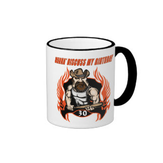 Discuss My 30th Birthday Gifts Mugs