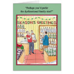 Disfunctional Family Humour Greeting Card