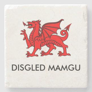 Disgled Mamgu: Grandma's Cuppa South Welsh Coaster