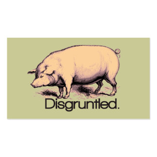 Disgruntled Pig Business Cards