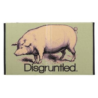 Disgruntled Pig iPad Folio Cover