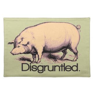 Disgruntled Pig Place Mat