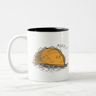 Disgruntled Taco Mug