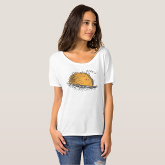 Disgruntled Taco Slouchy Boyfriend Shirt