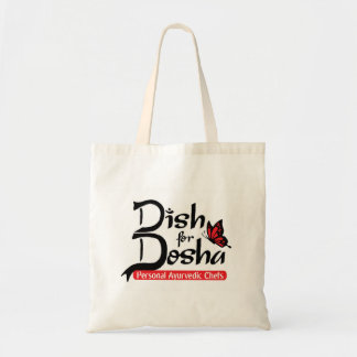 Dish for Dosha Personal Ayurvedic Chefs Budget Tote Bag