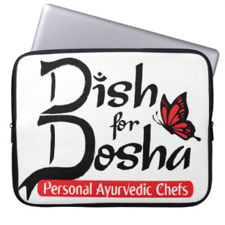 Dish for Dosha Personal Ayurvedic Chefs Laptop Computer Sleeve
