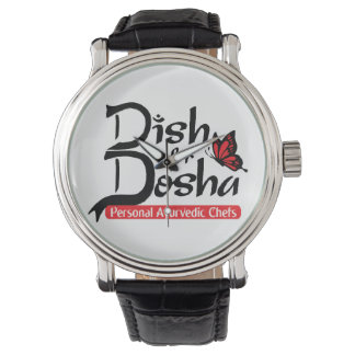 Dish for Dosha Personal Ayurvedic Chefs Wrist Watch