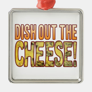 Dish Out Blue Cheese Christmas Ornament