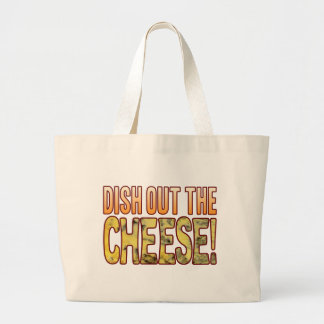 Dish Out Blue Cheese Large Tote Bag