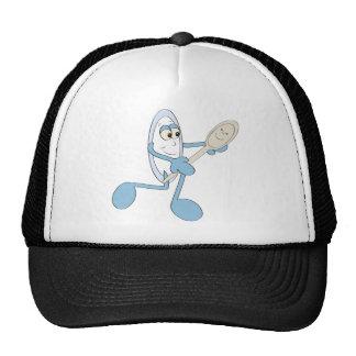 Dish ran with Spoon Trucker Hats
