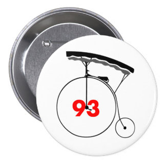 Disharmonious 93 7.5 cm round badge