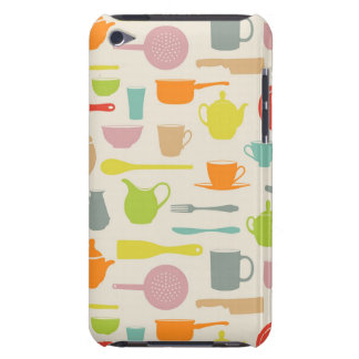 Dishes Pattern iPod Touch Case
