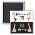 Dishwasher Clean Dirty Refrigerator Magnets