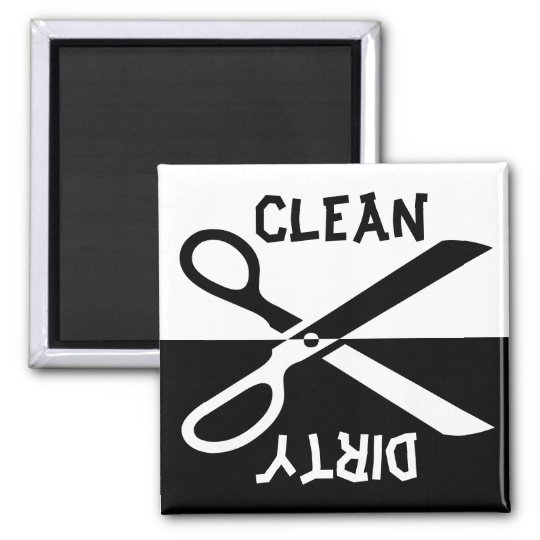 Dishwasher Square Magnet