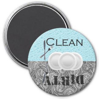 Dishwasher Suds 7.5 Cm Round Magnet