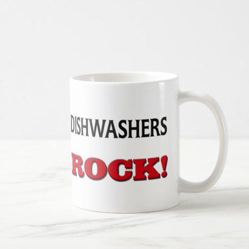 Dishwashers Rock Basic White Mug