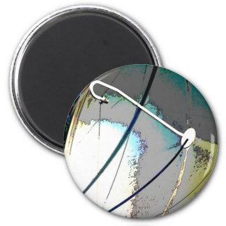 Dishy! 6 Cm Round Magnet