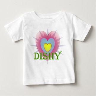 Dishy Retro Heart Tee Shirts