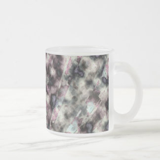 Disjointed Spring Frosted Glass Mug