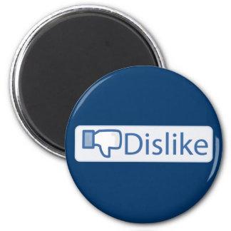 Dislike Button 6 Cm Round Magnet