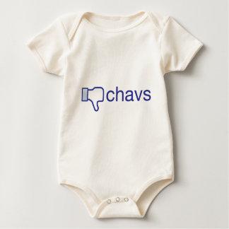 Dislike Chavs Baby Bodysuit