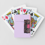 Dismantled Portable Stereo Bicycle Playing Cards
