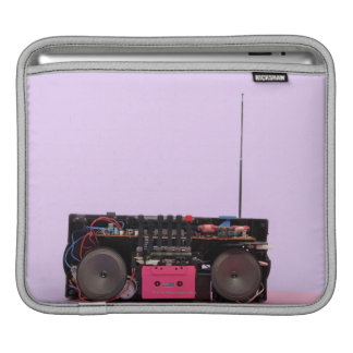 Dismantled Portable Stereo iPad Sleeve