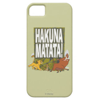 Disney Lion King Hakuna Matata! Barely There iPhone 5 Case