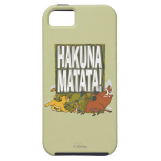 Disney Lion King Hakuna Matata! iPhone 5 Cover