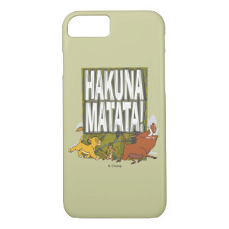 Disney Lion King Hakuna Matata! iPhone 8/7 Case