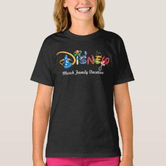 Disney Logo | Boy Characters - Family Vacation T-Shirt
