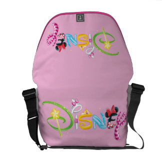 Disney Logo | Girl Characters Commuter Bag