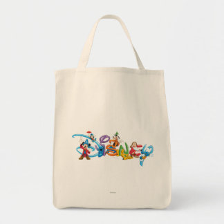 Disney Logo | Mickey and Friends Tote Bag
