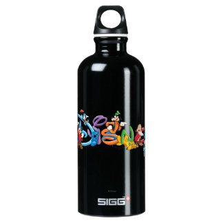 Disney Logo | Mickey and Friends Water Bottle