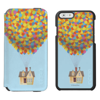 Disney Pixar UP | Balloon House Pastel Incipio Watson™ iPhone 6 Wallet Case