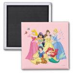 Disney Princesses 3 Refrigerator Magnet