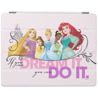 Disney Princesses   Never Give Up iPad Cover