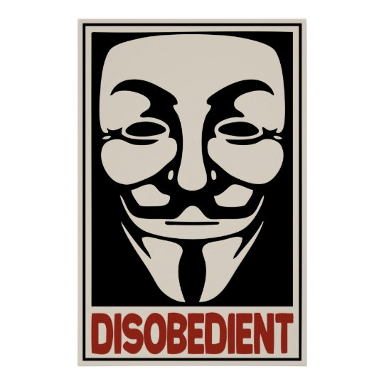 Disobedient Poster