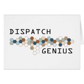 Dispatch Genius Card