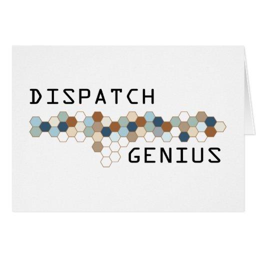 Dispatch Genius Greeting Cards