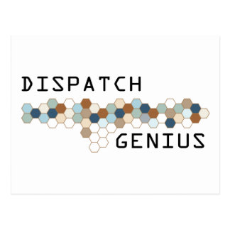 Dispatch Genius Postcard