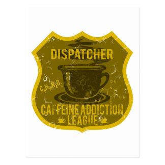 Dispatcher Caffeine Addiction League Post Cards