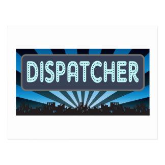 Dispatcher Marquee Postcard