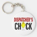 Dispatcher's Chick 1 Keychains