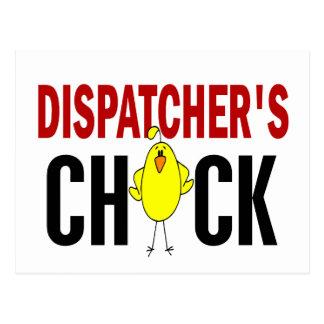 Dispatcher's Chick 1 Postcard