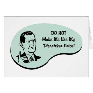 Dispatcher Voice Card
