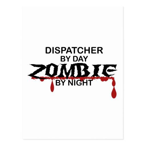 Dispatcher Zombie Postcard