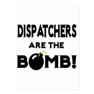 Dispatchers Are The Bomb! Postcard